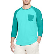 Under Armour Men's Dockside Charged Cotton Baseball T-Shirt