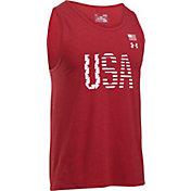 Under Armour Men's USA Graphic Sleeveless Shirt