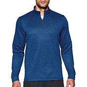 Under Armour Men's Armour Fleece Quarter Zip Slub Long Sleeve Shirt