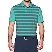 Under Armour Men's Flagstick Stripe Golf Polo