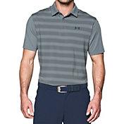 Under Armour Men's Flagstick Stripe Golf Polo