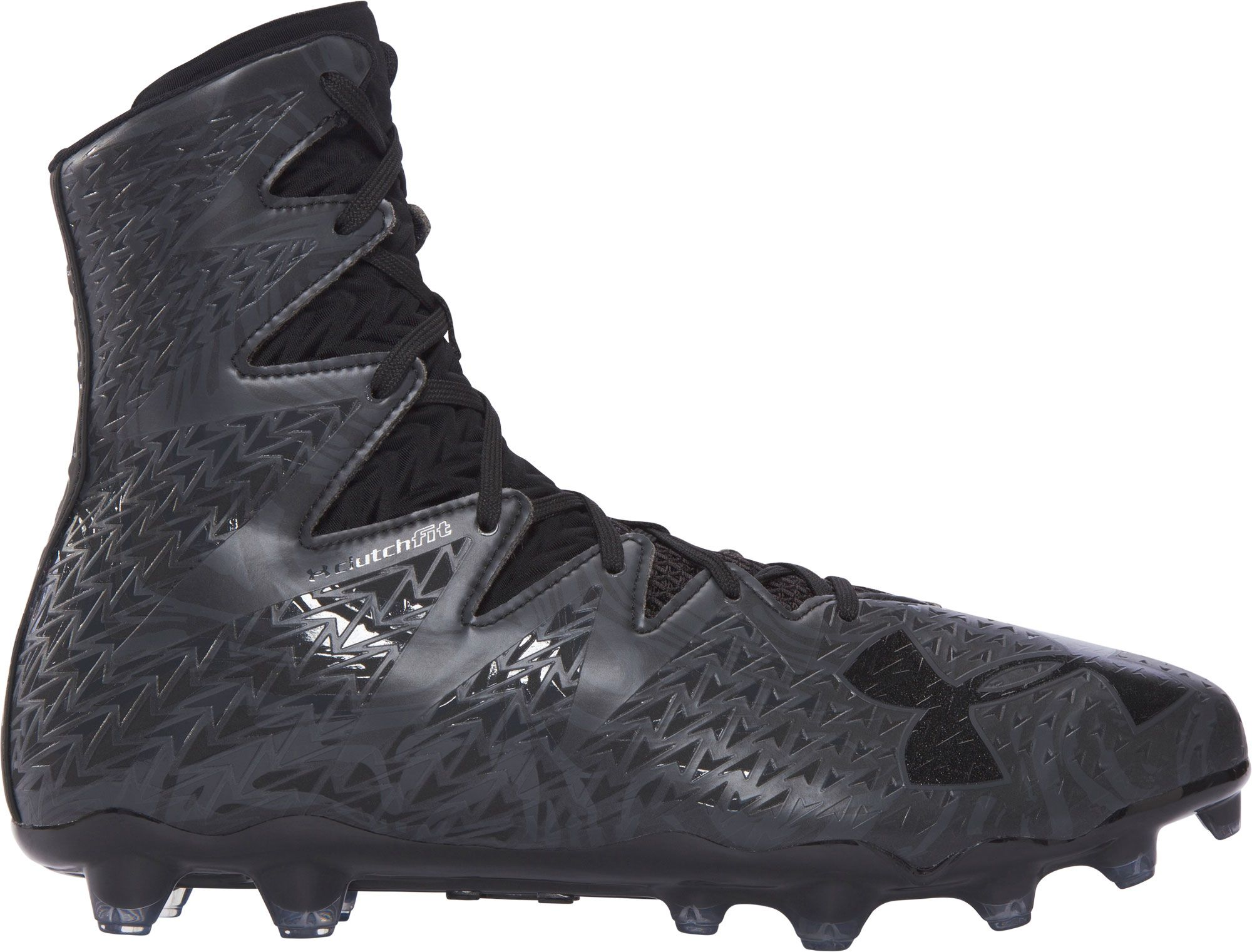 5e5aabd8b Featuring a lightweight material innovation and just 11.2 oz the new UA  Highlight Limited Edition Black.