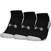 Under Armour Men's HeatGear Tech No-Show Golf Socks - 3 Pack