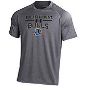 Under Armour Men's Durham Bulls Grey Tech Performance T-Shirt