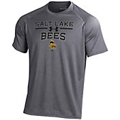 Under Armour Men's Salt Lake Bees Grey Tech Performance T-Shirt
