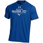 Under Armour Men's Oklahoma City Dodgers Royal Tech Performance T-Shirt
