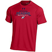 Under Armour Men's Reading Fightin Phils Red Tech Performance T-Shirt