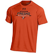 Under Armour Men's Fresno Grizzlies Orange Tech Performance T-Shirt