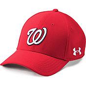 Under Armour Men's Washington Nationals Blitzing Adjustable Hat