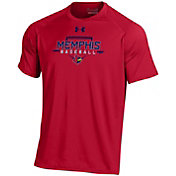 Under Armour Men's Memphis Redbirds Red Tech Performance T-Shirt