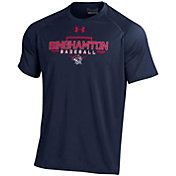 Under Armour Men's Binghamton Rumble Ponies Navy Tech Performance T-Shirt