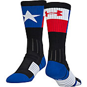 Under Armour Men's Unrivaled Texas Crew Socks