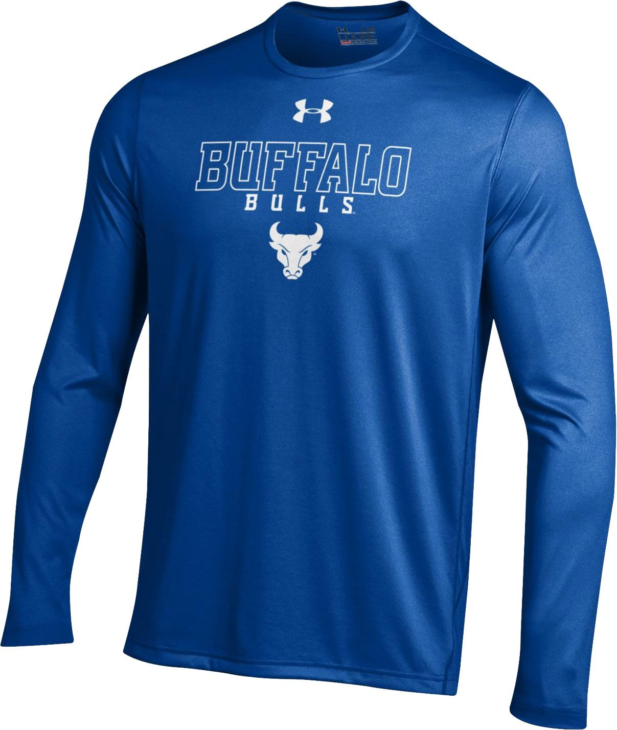 Under Armour Men's Buffalo Bulls Blue UA Tech Performance Long ...