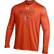 Under Armour Men's Bowling Green Falcons Orange Long Sleeve Tech T-Shirt