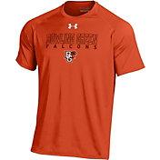 Under Armour Men's Bowling Green Falcons Orange Tech T-Shirt