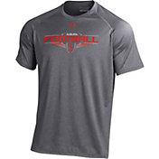 Under Armour Men's Auburn Tigers Grey Football Tech Performance T-Shirt