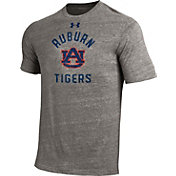 Under Armour Men's Auburn Tigers Grey Tri-Blend Performance T-Shirt