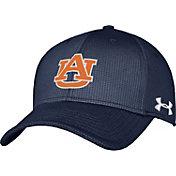 Under Armour Men's Auburn Tigers Blue Blitzing Stretch Fit Hat
