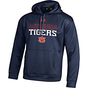 Under Armour Men's Auburn Tigers Blue Armour Fleece Hoodie