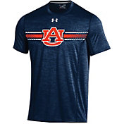 Under Armour Men's Auburn Tigers Blue Training T-Shirt