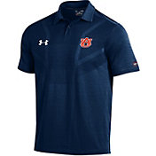 Under Armour Men's Auburn Tigers Blue Tour Polo