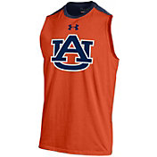 Under Armour Men's Auburn Tigers Orange Sleeveless Charge Tank