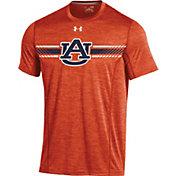 Under Armour Men's Auburn Tigers Orange Football Sideline Training T-Shirt