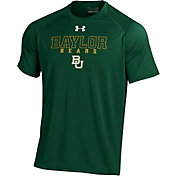 Under Armour Men's Baylor Bears Green Tech Performance T-Shirt