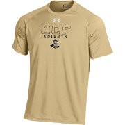Under Armour Men's UCF Knights Gold Tech Performance T-Shirt