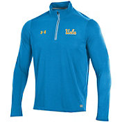 Under Armour Men's UCLA Bruins True Blue Microthread Quarter-Zip Shirt