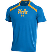 Under Armour Men's UCLA Bruins True Blue Threadborne Vented Tech T-Shirt
