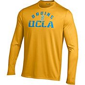 Under Armour Men's UCLA Bruins Gold UA Tech Long Sleeve Shirt