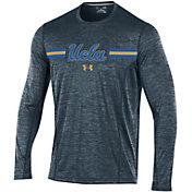 Under Armour Men's UCLA Bruins Grey Training Long Sleeve Shirt