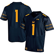 Under Armour Men's Cal Golden Bears Blue #1 Replica Football Jersey