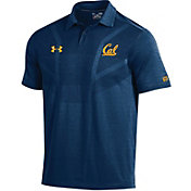 Under Armour Men's Cal Golden Bears Blue Tour Polo
