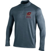 Under Armour Men's Central Michigan Chippewas Grey UA Tech Tonal Twist Quarter-Zip Shirt