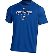 Under Armour Men's Creighton Bluejays Blue Tech T-Shirt