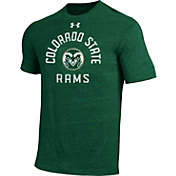 Under Armour Men's Colorado State Rams Green Tri-Blend Performance T-Shirt