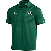 Under Armour Men's Colorado State Rams Green Tour Polo