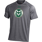 Under Armour Men's Colorado State Rams Grey Tech Performance T-Shirt
