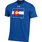 Under Armour Men's Colorado State Rams Colorado State Pride Royal Charged Cotton T-Shirt