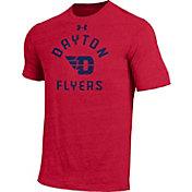 Under Armour Men's Dayton Flyers Red Tri-Blend T-Shirt