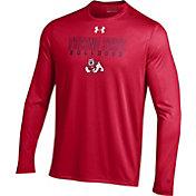 Under Armour Men's Fresno State Bulldogs Cardinal Long Sleeve Tech T-Shirt