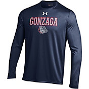 Under Armour Men's Gonzaga Bulldogs Blue UA Tech Long Sleeve Shirt