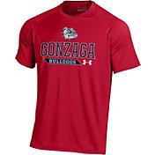 Under Armour Men's Gonzaga Bulldogs Red Performance Tech T-Shirt