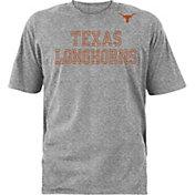 University of Texas Authentic Apparel Men's Texas Longhorns Grey Logo T-Shirt