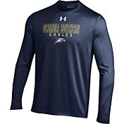 Under Armour Men's Georgia Southern Eagles Navy Long Sleeve Tech T-Shirt