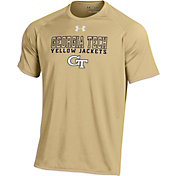 Under Armour Men's Georgia Tech Yellow Jackets Gold Tech T-Shirt