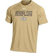 Under Armour Men's Georgia Tech Yellow Jackets Gold Tech Performance T-Shirt