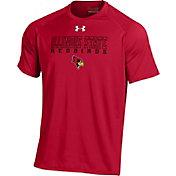 Under Armour Men's Illinois State Redbirds Red Tech Performance T-Shirt